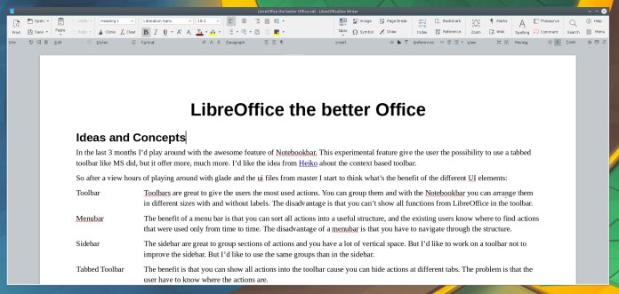 LibreOffice Theme